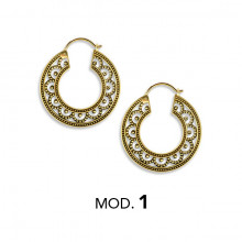 BRASS TRIBAL HOOP 0,8mm mod. 1