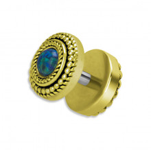 MESSING TRIBAL OPAL FAKE PLUG 1,2x6mm