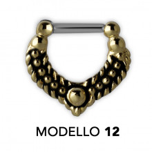 TRIBAL MESSING SEPTUM CLICKER MODEL 12