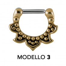 TRIBAL MESSING SEPTUM CLICKER MODEL 3