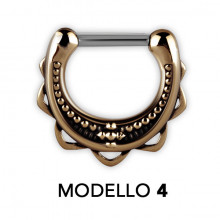 TRIBAL MESSING SEPTUM CLICKER MODEL 4