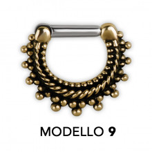 TRIBAL MESSING SEPTUM CLICKER MODEL 9