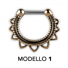 TRIBAL MESSING SEPTUM CLICKER MODEL 1