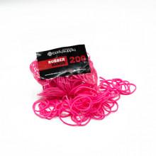 BodySupply Elastici colorati 200pcs - Rosa