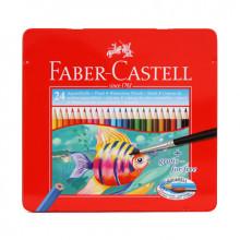 Faber Castell Wasserfarben Pencils 24St.