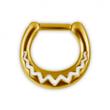GD 316 SEPTUM CLICKER AFRIKANISCHES MUSTER
