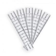 BodySupply Haftbares Augenbrauenlineal Einweg 50 Stück - Typ 1