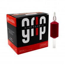 BodySupply Transparent Disposable Grips 25mm - Diamond 7