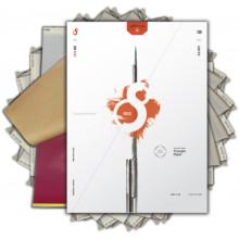 S8 RED VORLAGEN PAPIER 100 Stück- 210x280mm