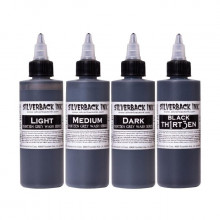 SilverBack Ink Greywash TH1RT3EN SET 3+1 BLACK